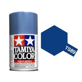 Tamiya TAM85089  TS-89 Pearl Blue Lacquer Spray Paint (100ml)