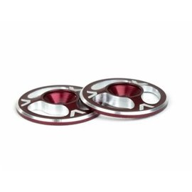 Avid RC AV1060-RED  Triad Wing Buttons Red M3 (2)