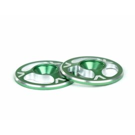 Avid RC AV1060-GRN  Triad Wing Buttons Green M3 (2)