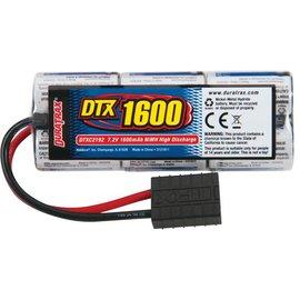 Duratrax DTXC2192 NiMH 7.2V 1600mAh 2/3A Stick 1/16 TRA Plug