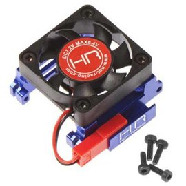 HOT RACING HRAESC303T06 Velineon VXL-3 ESC Heat Sink, High Velocity Fan