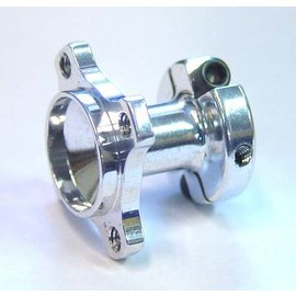 IRS IRS215  Centered LEFT Side Clamping Hub (Long Hub)- SILVER
