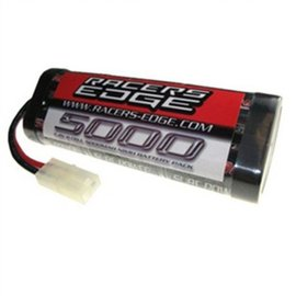 Racers Edge 6 Cell 5000mah 7.2v NiMH Battery W/standard Tamiya Connector