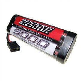 Racers Edge 6 Cell 5000mah 7.2v NiMH Battery W/standard Traxxas Connector
