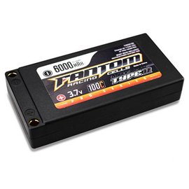 Fantom Racing FAN26186  MaxV-SPEC PRO 6000mAh LiPo, 3.7v, 1S 5mm Bullets