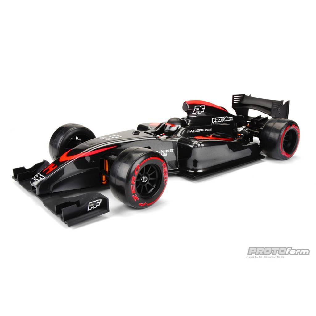 For 1//10Th F1 Car Protoform V2 F1 Front Wing PL1729-03 Black