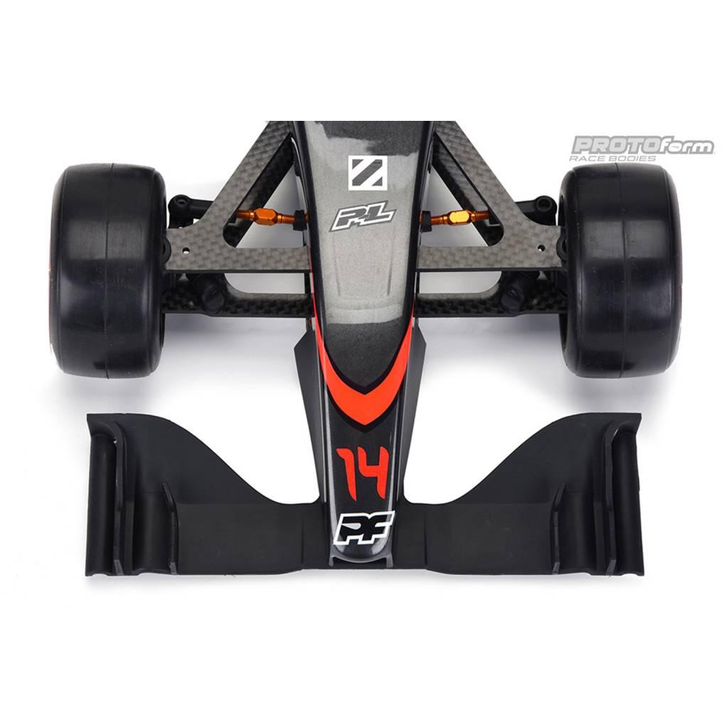Black For 1//10Th F1 Car PL1729-03 Protoform V2 F1 Front Wing