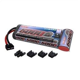 Venom Racing VNR1527-7  8.4V 5000MAH NIMH Flat Battery Pack Universal Plug