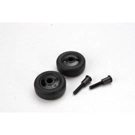 Traxxas TRA4976  Wheelie Bar Wheels & Axles