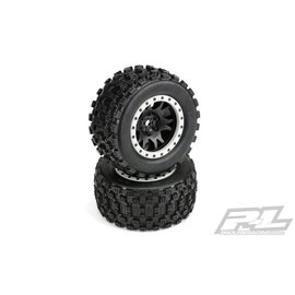 Proline Racing Badlands MX43 Pro-Loc Mnt Impulse Blk,Grey(2):XMX