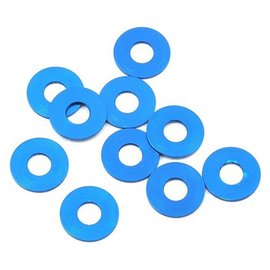 Team Associated ASC31384  Bulkhead Washers(10) 7.8x0.5mm Blue Alum TC7 F6 B6/D B6.1/D R5