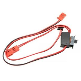 Traxxas TRA3038 RX On-Board Radio System on/off switch wiring harness