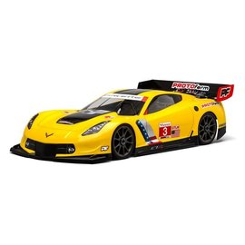 Protoform PRM1546-40 Chevrolet Corvette C7.R Clear Body for 1:8 GT (Long Wheelbase)