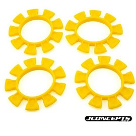 J Concepts JCO8115  Dirt Bands Tire Gluing Rubber Bands Yellow (4)