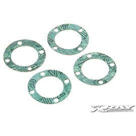 Xray XRA304990 T4 XB4 Differential Gasket (4)