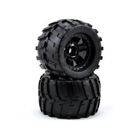"Proline Racing PRO1189-11 Masher 3.8"" Mounted Tires 1/2"" Offset 17mm"