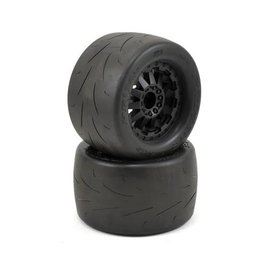 "Proline Racing PRO10116-15 Prime 2.8"" Tires on F-11 Black Rear Wheels (2)"