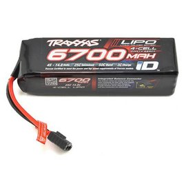 Traxxas TRA2890X Power Cell LiPo 14.8V 4S 6700mAh 25C