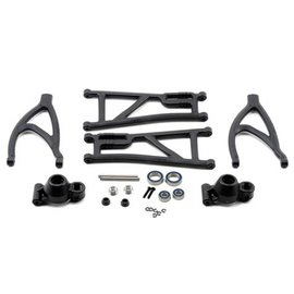 RPM R/C Products RPM80562 Revo True-Track Rear A-Arm Conversion Kit (Black)