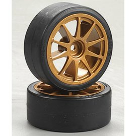 Tamiya TAM51219 Drift Tires Type D and Wheels