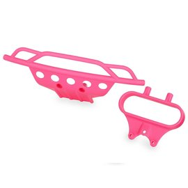 Traxxas TRA5835P Bumper Front/Bumper Mount Front Pink (2)