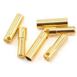 Castle Creations CSE095-0007-00 4mm High Current Bullet Connector Set 16G/13G 75A (3)