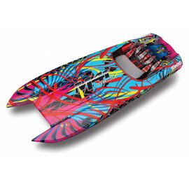 "Traxxas TRA57046-4 DCB M41 40"" Ready-To-Race Catamaran, w/Tqi, TSM"