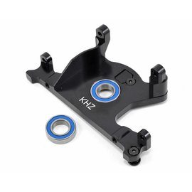 King Headz TRX7460 Slash 4x4 LCG Black Aluminum Motor Mount w/Bearing