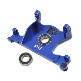 King Headz TRX-7460-B Slash 4x4 LCG Blue Aluminum Motor Mount w/Bearing