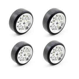 Traxxas TRA4873 Mounted Tires (Nitro 4-Tec) (4)