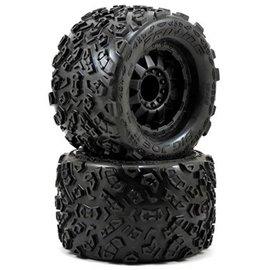 "Proline Racing PRO1198-13 Big Joe II 3.8"" Mounted Tire 17mm"