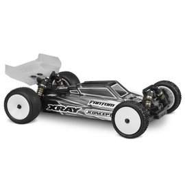 J Concepts JCO0340L  S2-XRAY XB4 Buggy Body w/ Aero Wing-Lightweight Clear