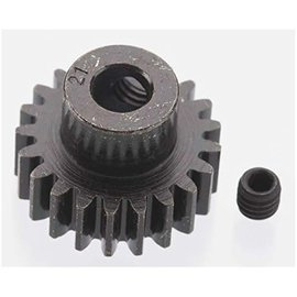 Robinson Racing RRP8621 21T Pinion Gear X-Hard Blackened Steel 32P w/5mm Bore