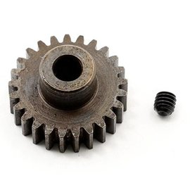 Robinson Racing RRP8725 25T Pinion Gear X-Hard Steel .8 Mod w/5mm Bore