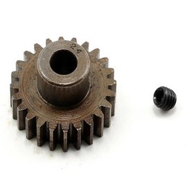 Robinson Racing RRP8724 24T Pinion Gear X-Hard Steel .8 Mod w/5mm Bore