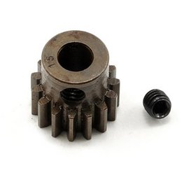 Robinson Racing RRP8715 15T Pinion Gear X-Hard Steel .8 Mod w/5mm Bore
