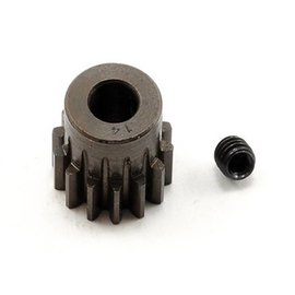 Robinson Racing RRP8714 14T Pinion Gear X-Hard Steel .8 Mod w/5mm Bore
