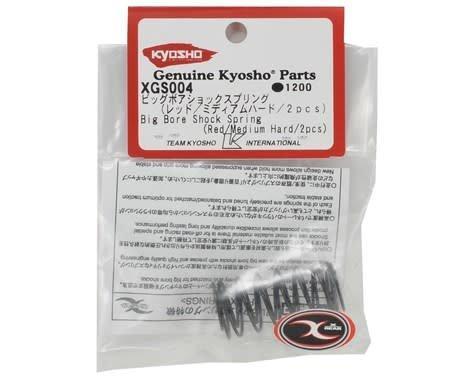 S//Red//Medium Hard//2pcs Kyosho XGS004 Big Bore Shock Spring