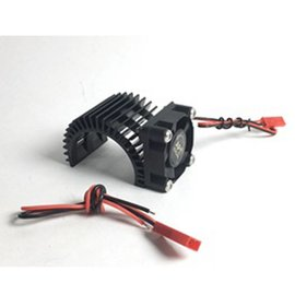 APS Racing APS91148KV2 Black APS Motor Heatsink Ver.2 w/Super Cooling Side Fan for 540 Motor