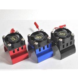 APS Racing APS91146KV2 Black APS Motor Heatsink W/High Power Top Fan For 540 Motor