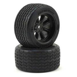 Protoform PRM10139-18 VTA Rear Tires (31mm) Mounted on Black Wheels (2)