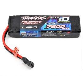 Traxxas TRA2869X 7600mAh 7.4V 2-Cell 25C Lipo ID