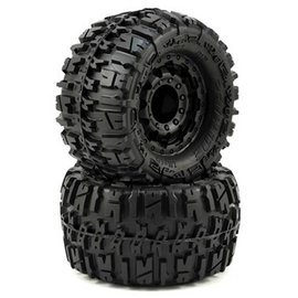 "Proline Racing PRO1170-18  Trencher 2.8"" All Terrain Tires Mounted on F-11 17mm Hex wheels (2)"