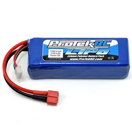 Protek RC 4S LiPo 20C Battery Pack (14.8V/2100mAh) (Starter Box)