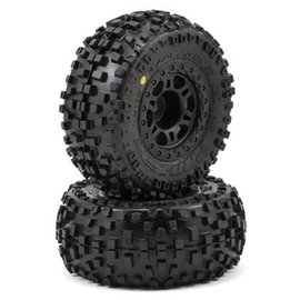 "Proline Racing PRO1182-22 Badlands SC 2.2""/3.0"" M2 Mounted Tires"