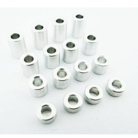 HOT RACING HRASPC3007 M3 3 -9mm Aluminum Standoff Spacer (16)