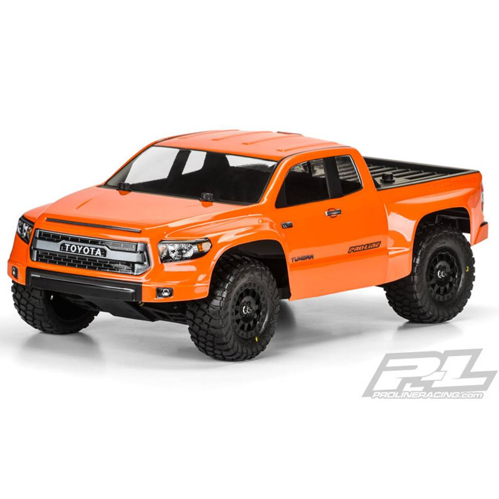 Proline Racing Pro3476 00 Toyota Tundra Trd Pro True Scale Clear Body For Slash Slash 4x4 And Pro 2 Sc Michael S Rc Hobbies