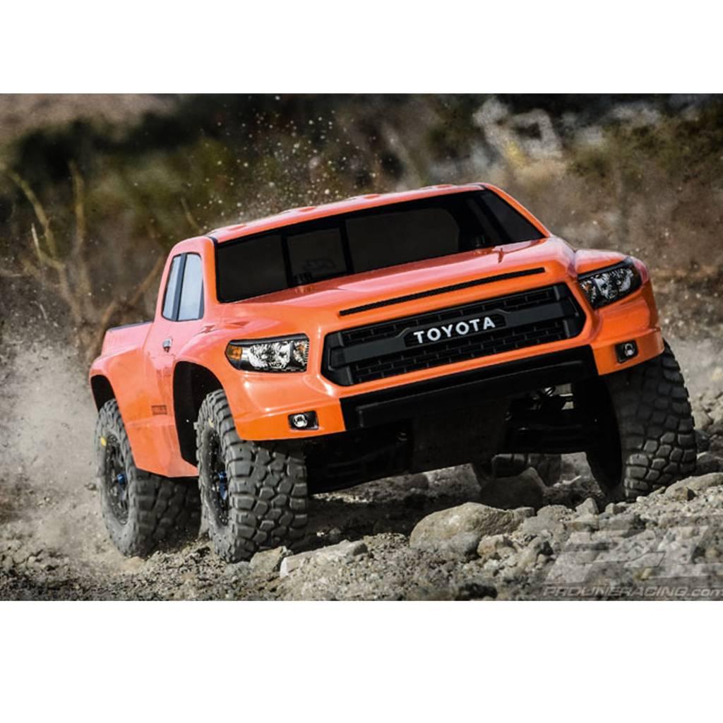 Tundra Racing Series >> Pro3476 00 Toyota Tundra Trd Pro True Scale Clear Body For Slash Slash 4x4 And Pro 2 Sc