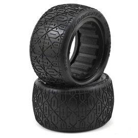 "J Concepts JCO3176-05 Space Bars 2.2"" Rear Buggy Tires, Gold Compound (2)"