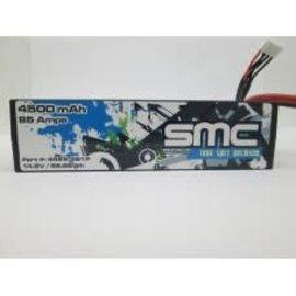 SMC SMC4585-4S1PD  True Spec Premium 14.8V 4500mAh 90C Lipo w/Deans Plug